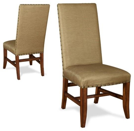 Winston Side Chair Luxe Gold