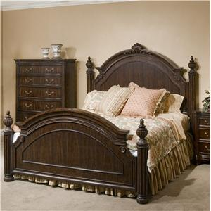 Great River Trading Co Cromwell Queen Poster Headboard & Footboard Bed