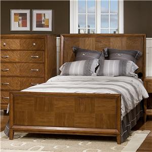 Great River Trading Co Plaza  Full Panel Bed