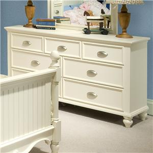 Great River Trading Co Laguna - Youth Drawer Dresser