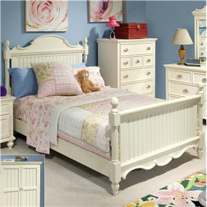 Great River Trading Co Laguna - Youth Panel Bed