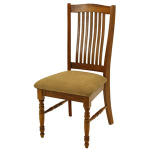 Solid Oak Urbandale Cushion Side Chair