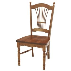 Dining Sheaf Back Side Chair