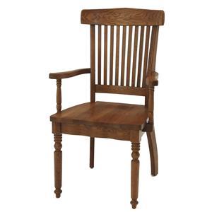 GS Furniture Classic Oak Grand Arm Chair