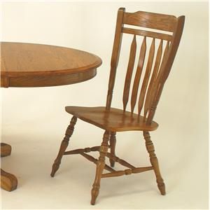 Casual Schoolhouse Side Chair