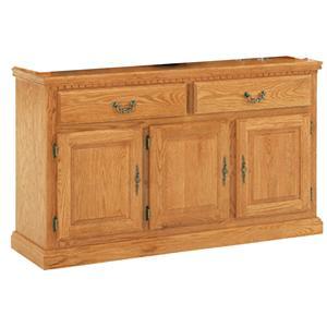 GS Furniture Classic Oak Classic Buffet
