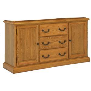 GS Furniture Classic Oak Buffet