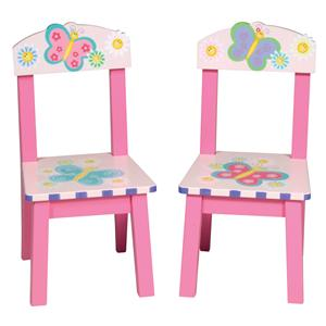 Guidecraft Butterfly Set of 2 Extra Chairs