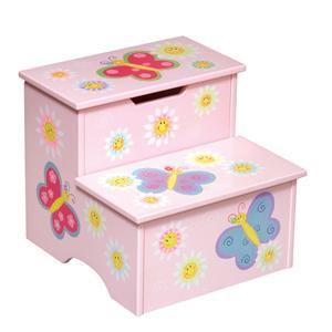 Guidecraft Butterfly Storage Step-Up