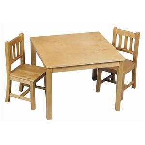Guidecraft Mission 3 Piece Mission Table Set