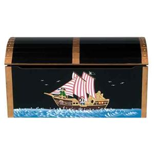 Guidecraft Pirate Toy Box