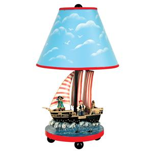 Guidecraft Pirate Table Lamp