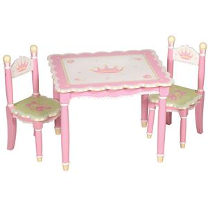 Guidecraft Swan Lake 3 Piece Table and Chair Set
