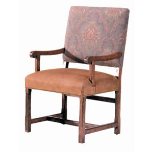 Guy Chaddock Melrose Custom Handmade Furniture Country English Armchair
