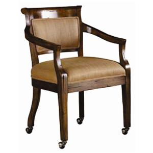 Guy Chaddock Melrose Custom Handmade Furniture Country English Arm Chair