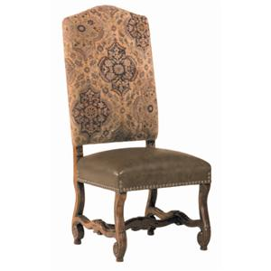 Guy Chaddock Melrose Custom Handmade Furniture Country English Camelback Muttonbone Chair