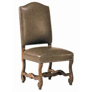 Guy Chaddock Melrose Custom Handmade Furniture Country English Low Camelback Muttonbone Cha