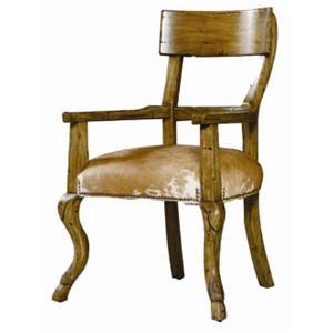 Guy Chaddock Melrose Custom Handmade Furniture Country English Hoof Foot Arm Chair