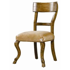 Guy Chaddock Melrose Custom Handmade Furniture Country English Hoof Foot Side Chair