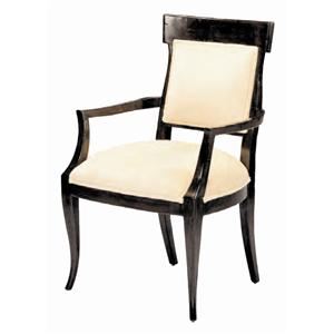 Guy Chaddock Melrose Custom Handmade Furniture Directoire Arm Chair