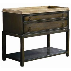 Guy Chaddock Melrose Custom Handmade Furniture Country English Chest with Shelf