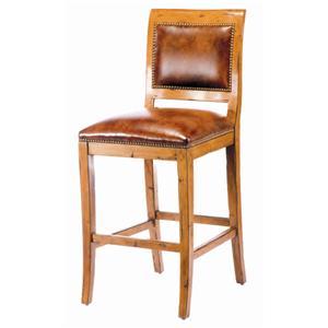 Guy Chaddock Melrose Custom Handmade Furniture Country English Barstool
