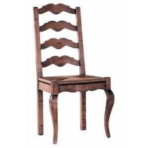 Guy Chaddock Melrose Custom Handmade Furniture Country French Ladderback Chair