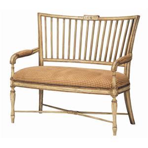 Guy Chaddock Melrose Custom Handmade Furniture Country French Avignon Settee