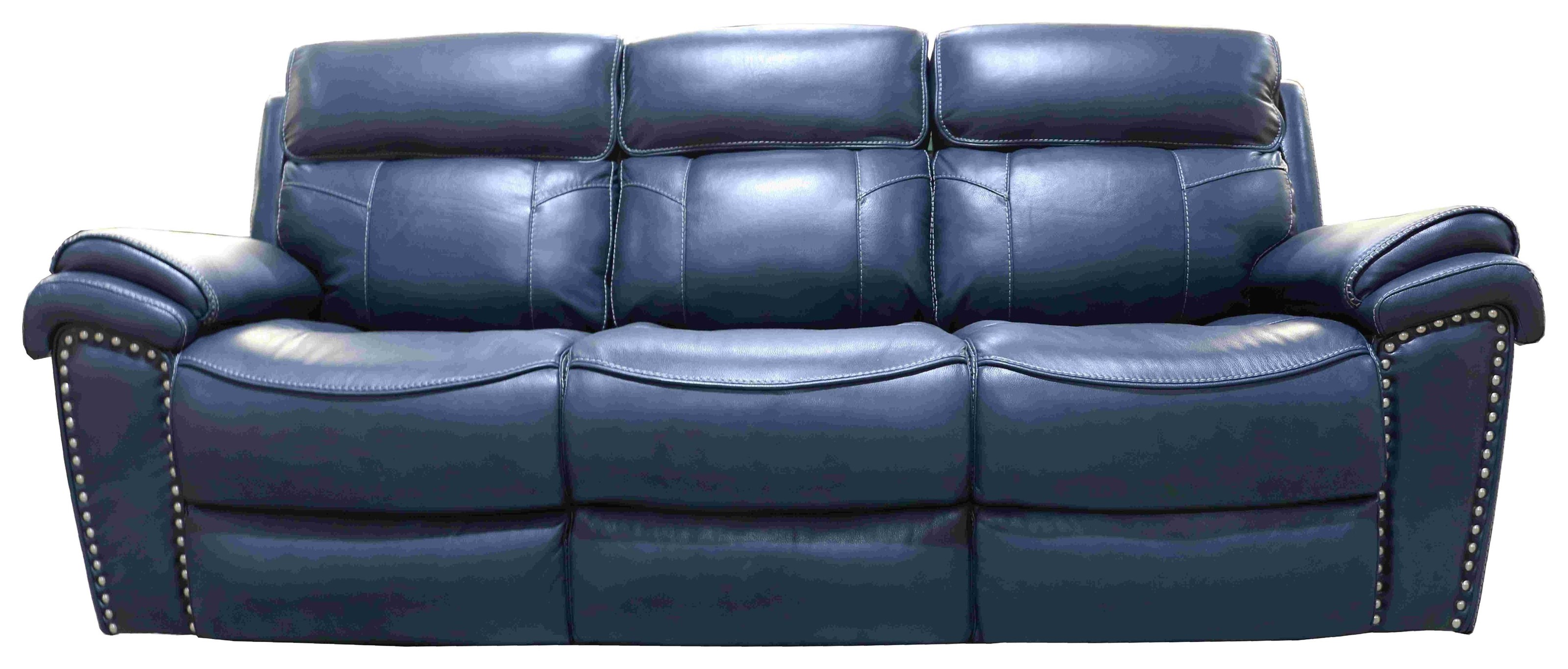 1012 Leather Match Dual Reclining Power Sofa by H317 Logistics at Darvin Furniture