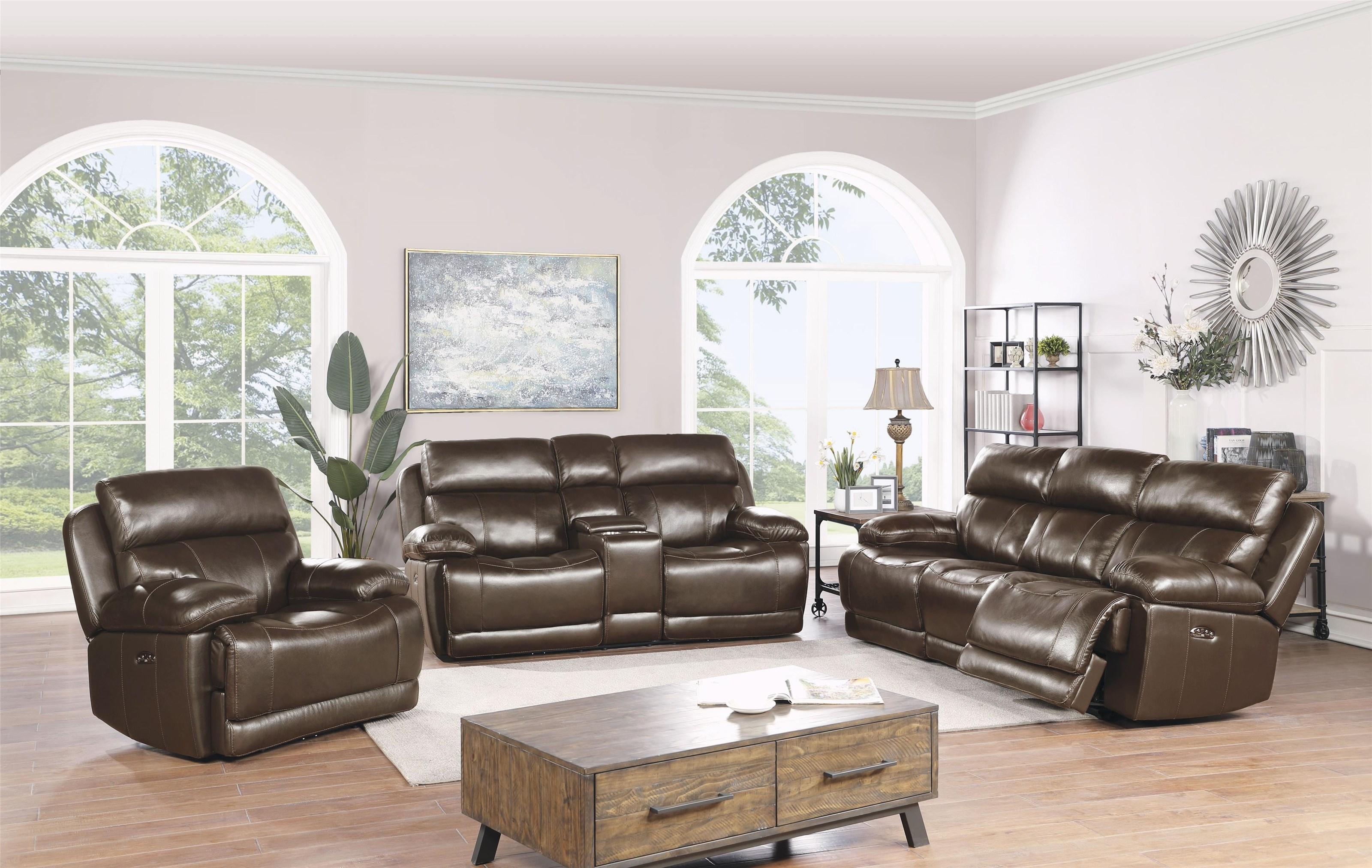 Trojan Power Headrest Sofa, Loveseat and Recliner by H317 Logistics at Sam Levitz Furniture