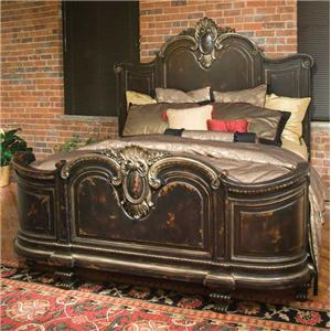 Florentina King Bed Without Garland
