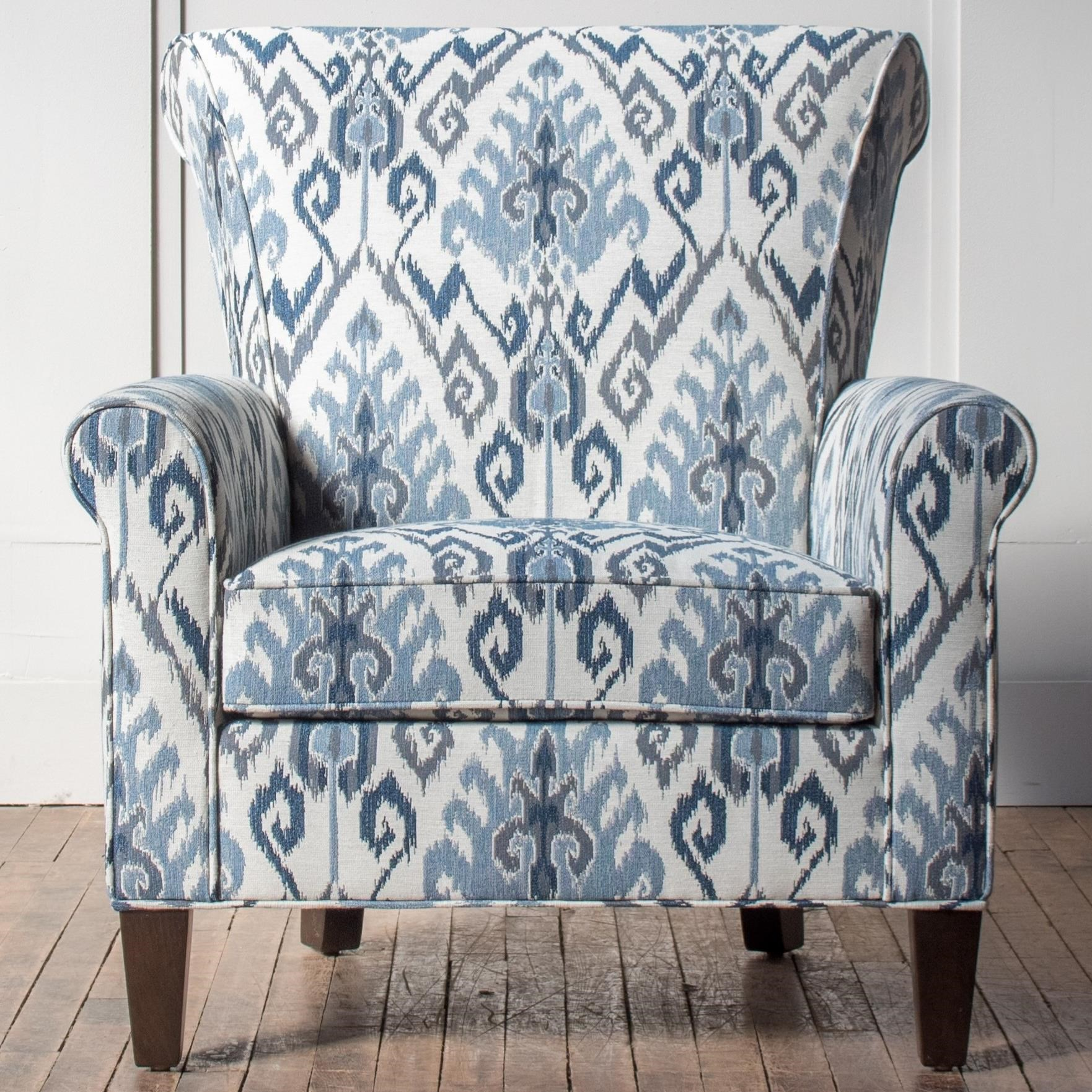 Accent Chairs Customizable Accent Chair by Hallagan Furniture at Wayside Furniture