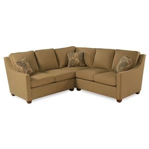 2-Piece Sectional w/ Rising Track Arma