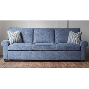 Customizable Rolled Arm Sofa