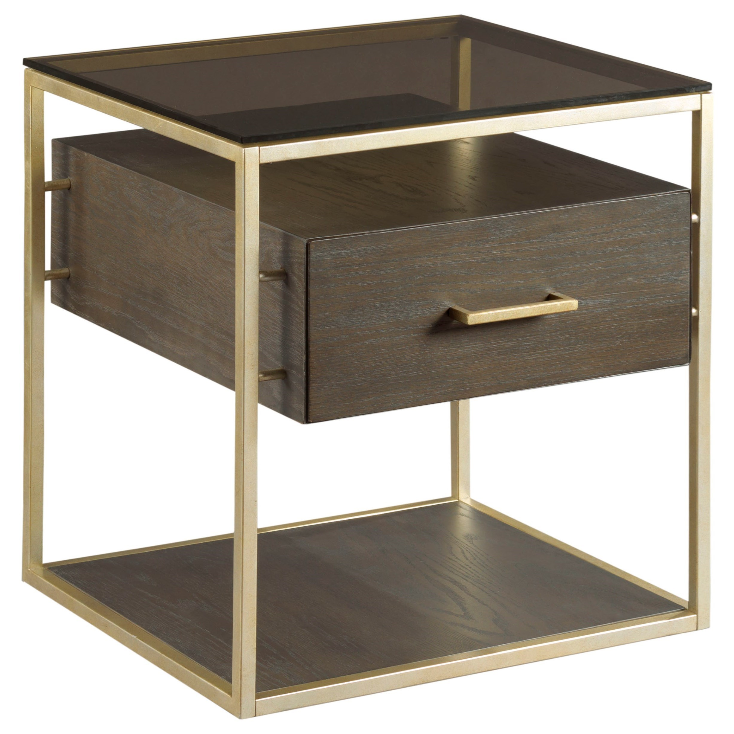 Essence End Table by Hammary at Mueller Furniture