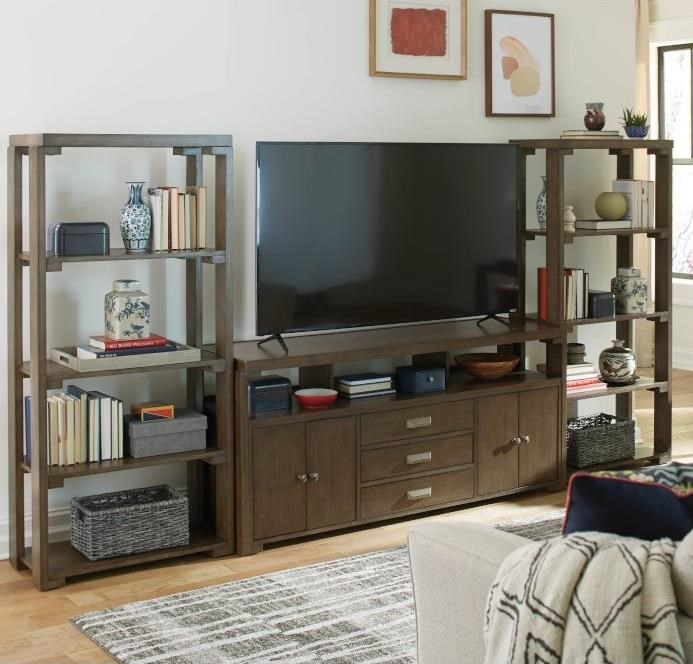 Amber Media Wall Unit by Hammary at Alison Craig Home Furnishings