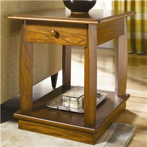 Hammary Ascend Drawer End Table