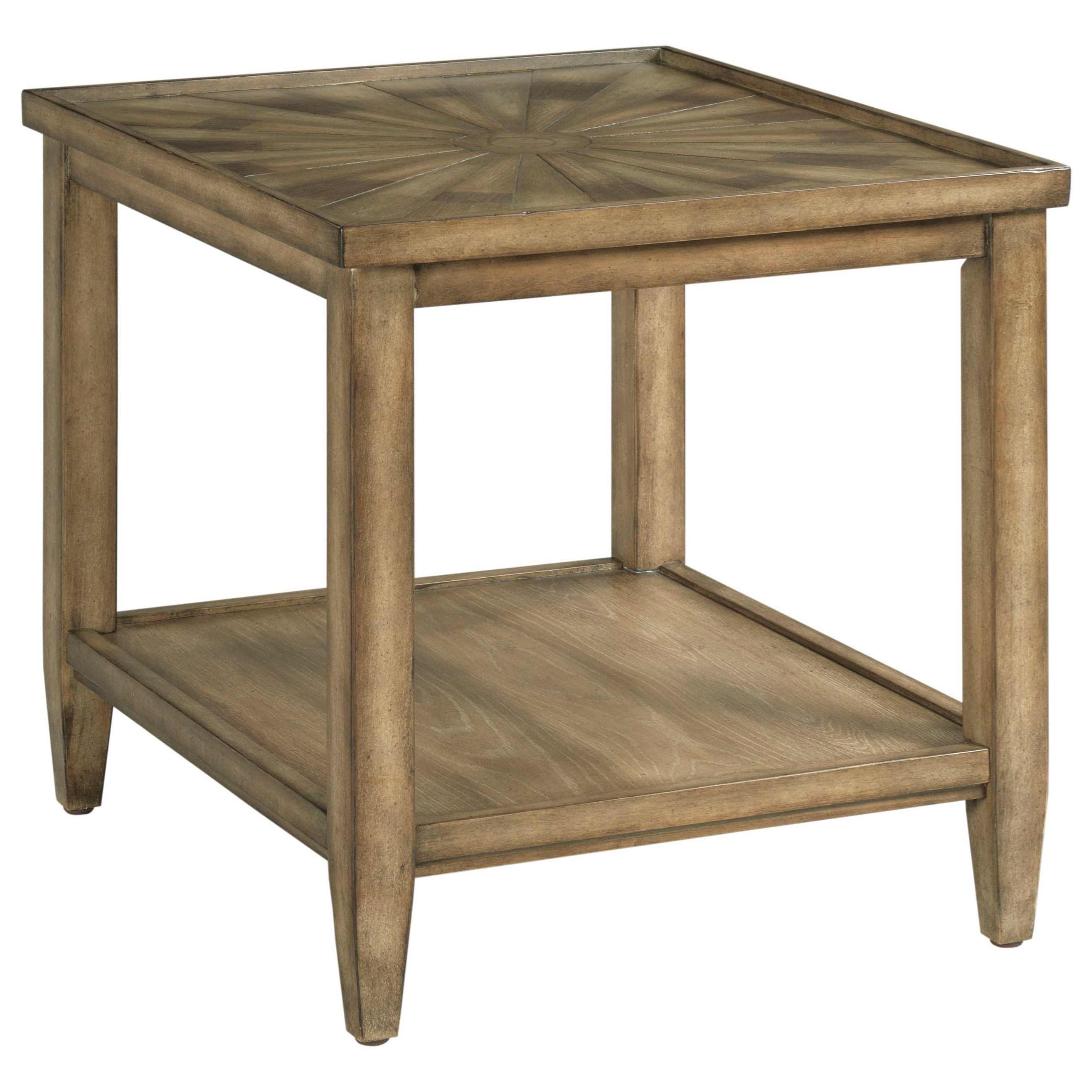 Astor Rectangular End Table by Hammary at Jordan's Home Furnishings