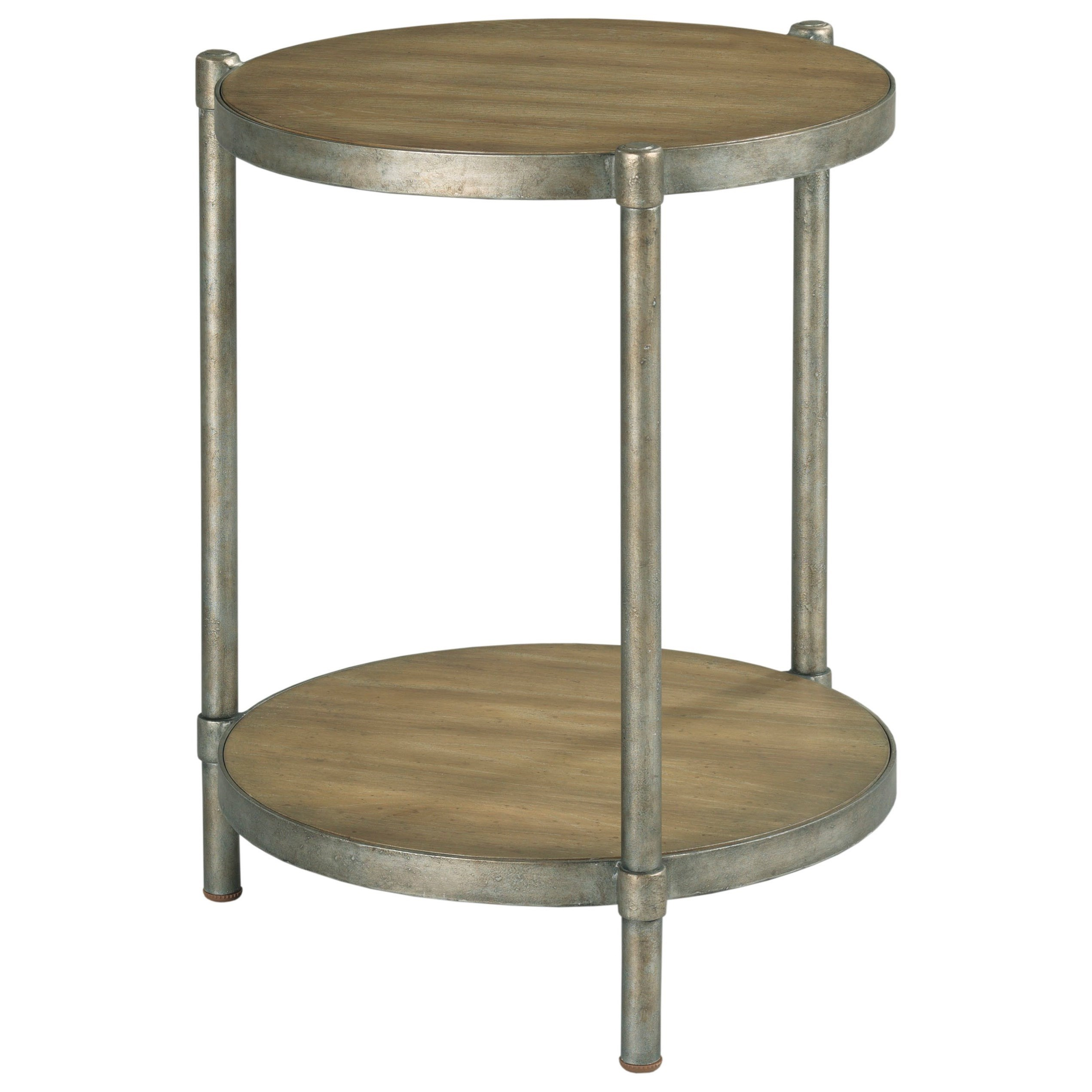 Astor Round Accent Table by Hammary at Crowley Furniture & Mattress
