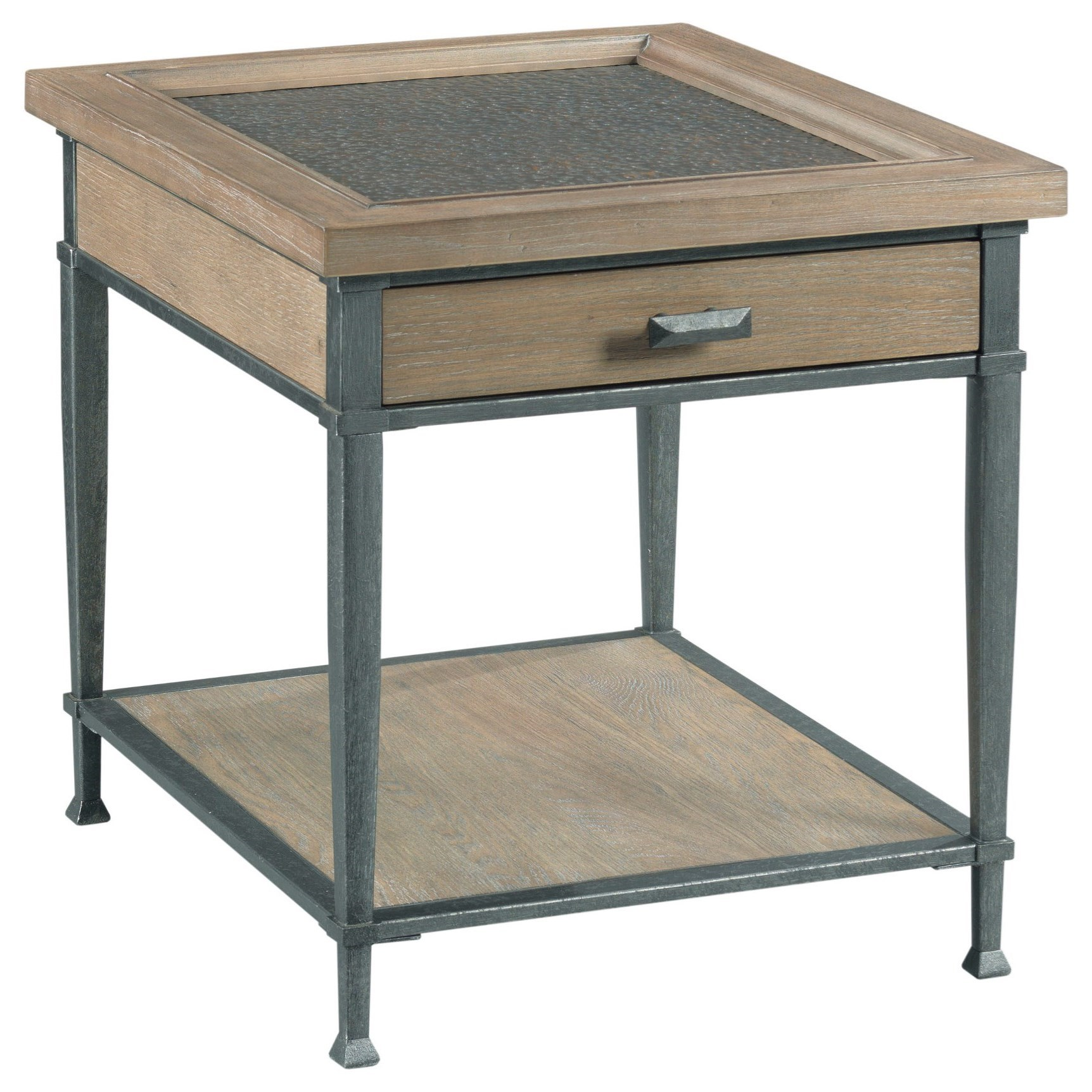 Austin Rectangular End Table by Hammary at Alison Craig Home Furnishings