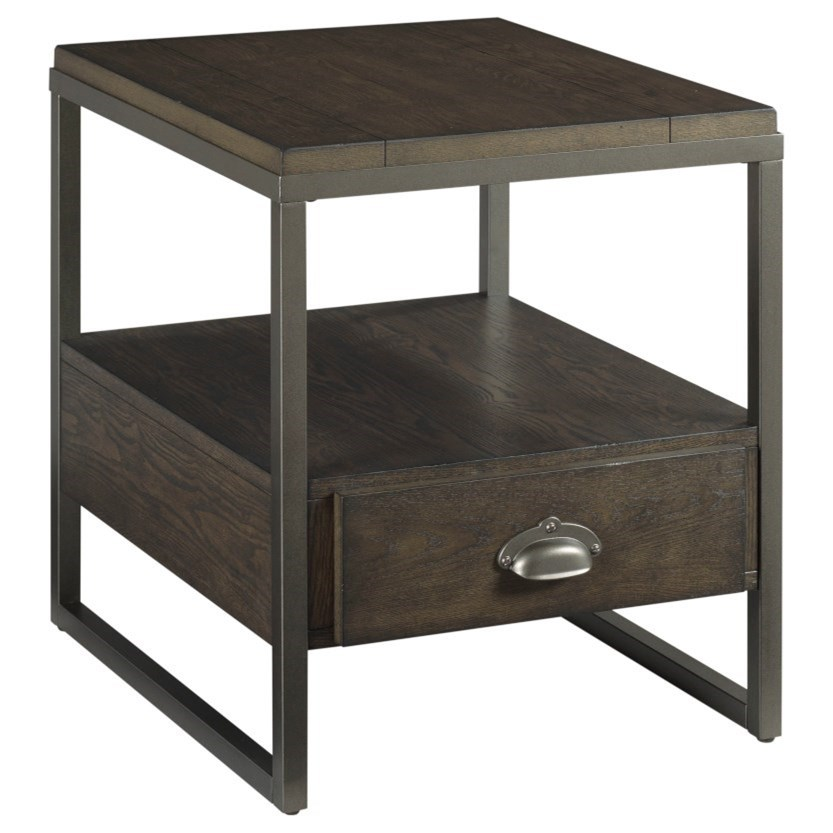 Baja II Rectangular Drawer End Table by Hammary at Stoney Creek Furniture