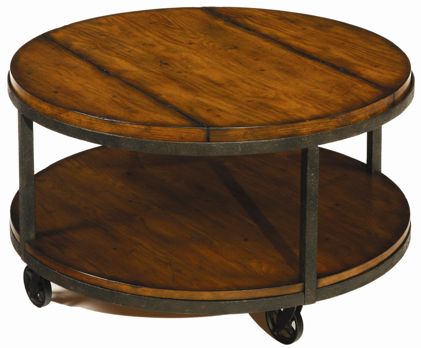 Baja Round Cocktail Table by Hammary at Alison Craig Home Furnishings