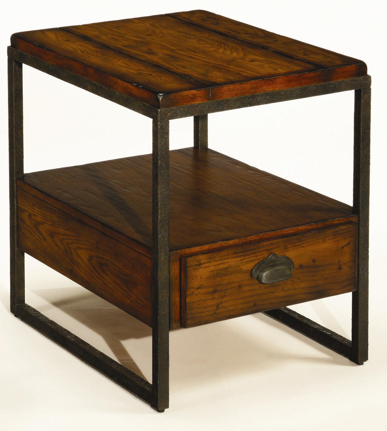 Baja Rectangular Drawer End Table by Hammary at Alison Craig Home Furnishings