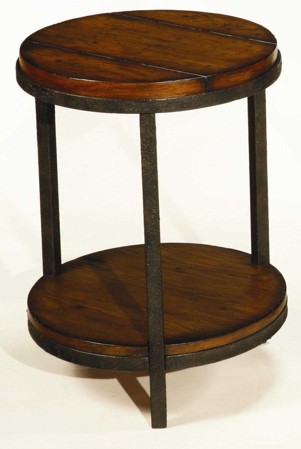 Baja Round End Table by Hammary at Alison Craig Home Furnishings