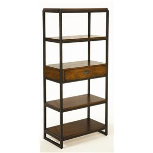 Etagere with 4 Shelves and Drawer
