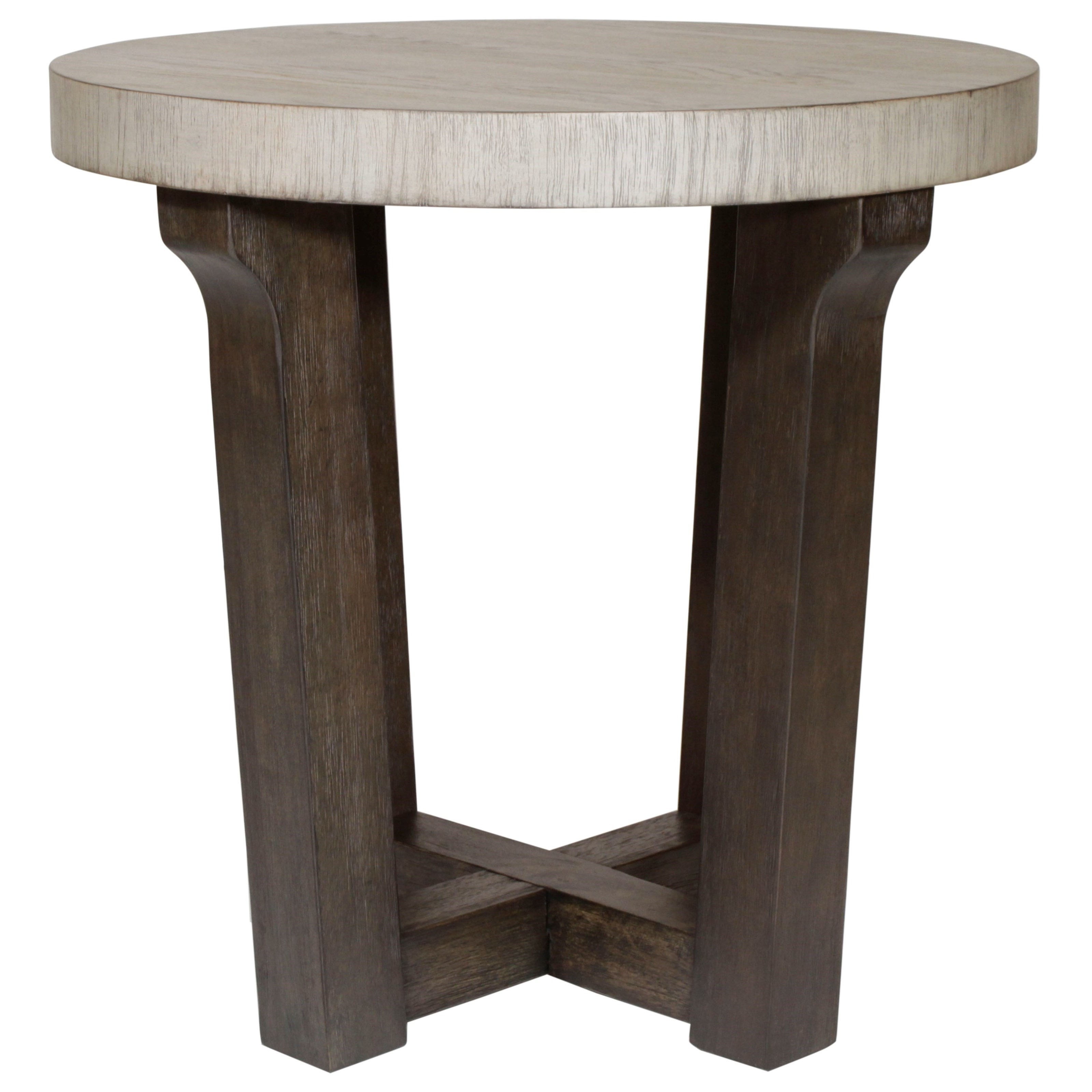 Beckham Round Accent Table by Hammary at Jordan's Home Furnishings