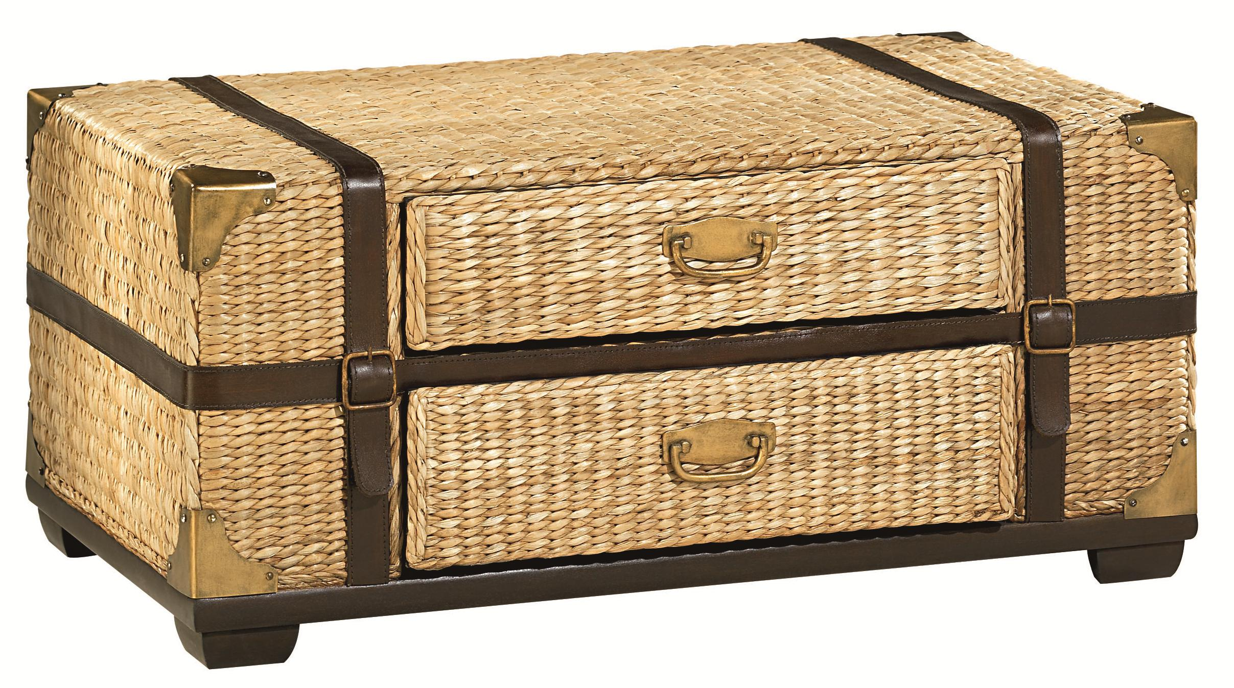 Boracay Trunk Cocktail Table by Hammary at Alison Craig Home Furnishings