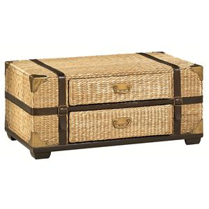 Tropical Voyage Cocktail Trunk with Storage