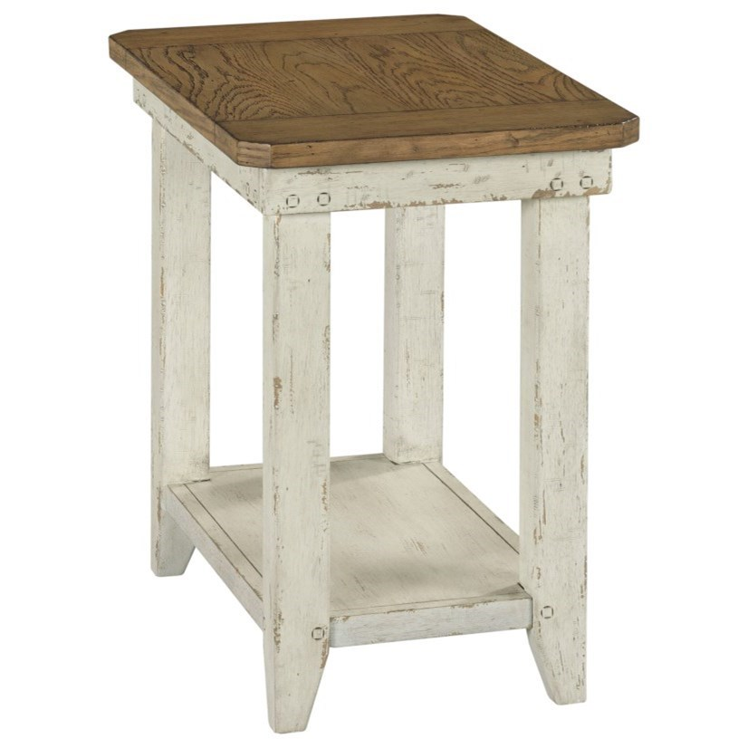 Chambers Chairside Table by Hammary at Johnny Janosik