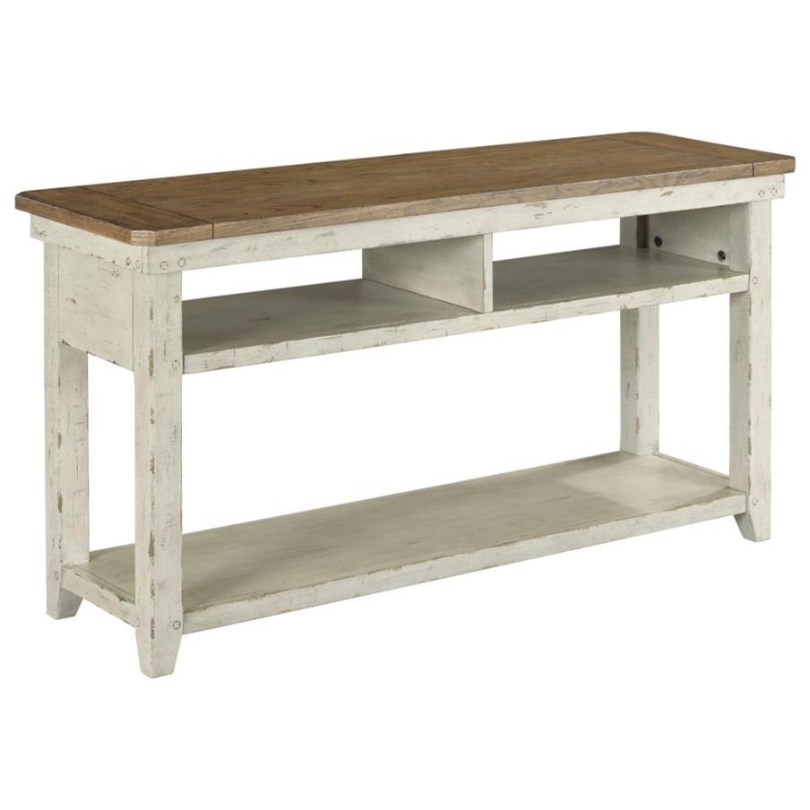 Chambers Sofa Table by Hammary at Johnny Janosik